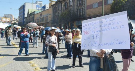 LA CAJA NACIONAL DE SALUD ES DE LOS TRABAJADORES AFILIADOS y NO DEL GOBIERNO PRO PATRONAL