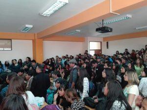 Primera Asamblea Representativa en donde la JS demostró los vicios del proceso electoral