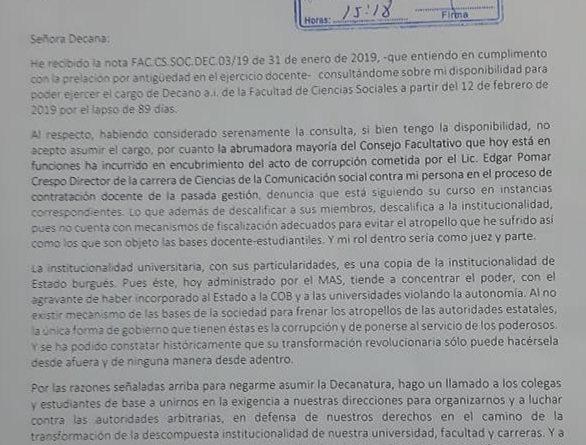 Carta Jaime