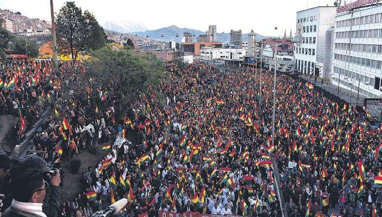 Resolución de la ciudad de La Paz: Ni Mesa ni Evo Morales