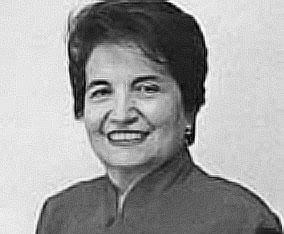 Ana María de Campero, ex defensora del Pueblo