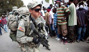 Ejército de los EEUU. en Haití