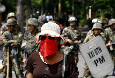 En Honduras se vive una situación inédita