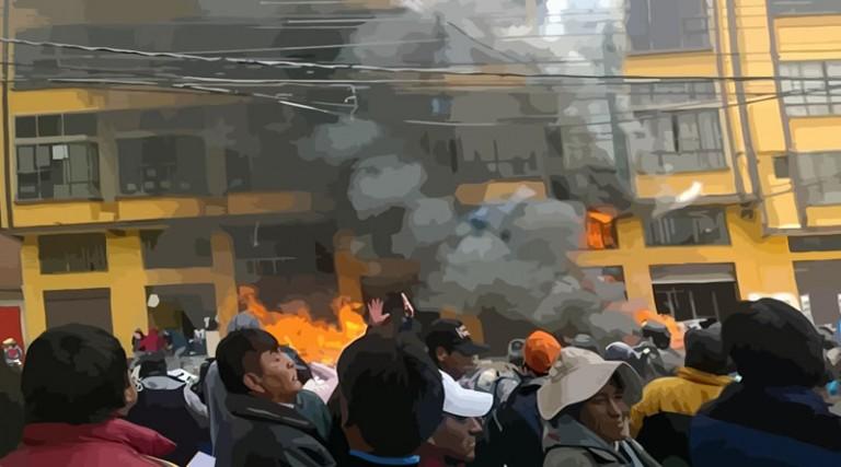 RECHAZO A LOS ATENTADOS CONTRA TRABAJADORES MUNICIPALES