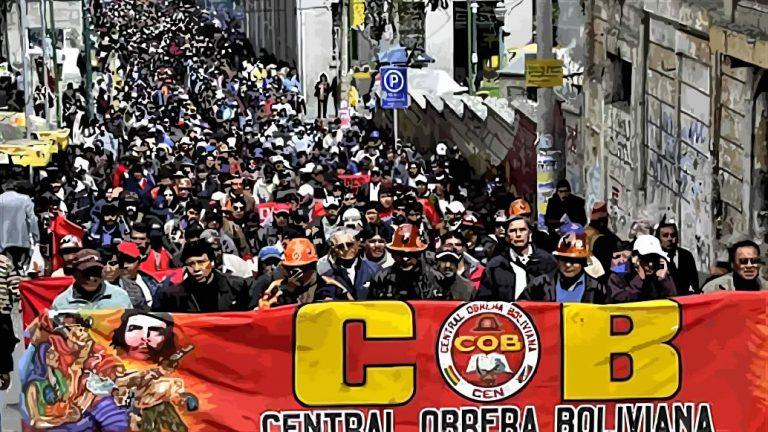 TODOS AL PARO NACIONAL DE LA COB – 20 DE JUNIO