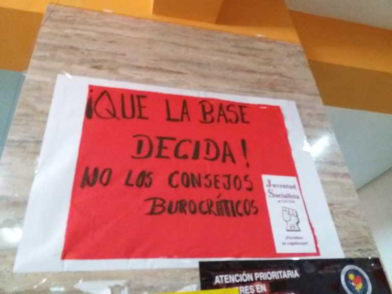 FISCALIZAR SIGNIFICA DEFENDER DERECHOS DE LAS BASES Y NO NORMAS BUROCRÁTICAS