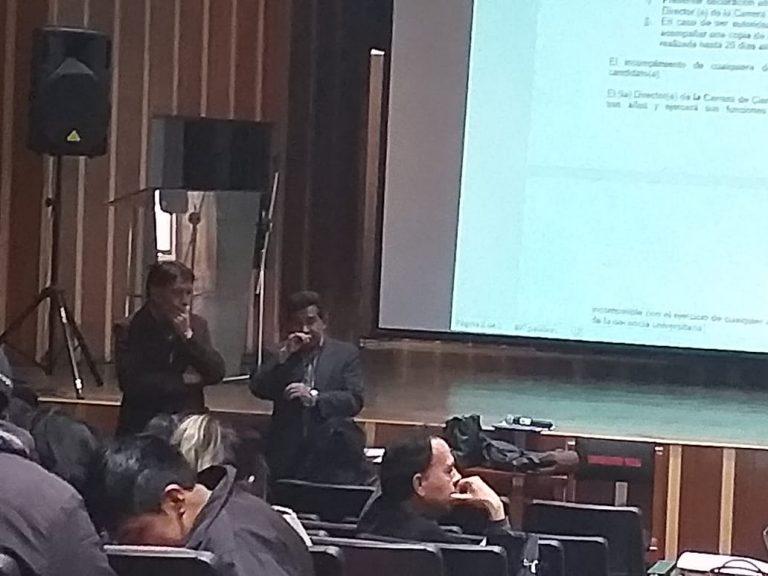 Elecciones a director en Comunicación UMSA: El Comité Electoral está al servicio del candidato de la reelección, no es imparcial