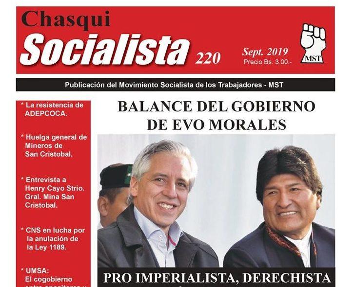 Chasqui Socialista Nº 220