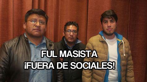 DIRIGENTES CORRUPTOS DE LA FUL INTERVIENEN ELECCIONES ESTUDIANTILES EN SOCIALES