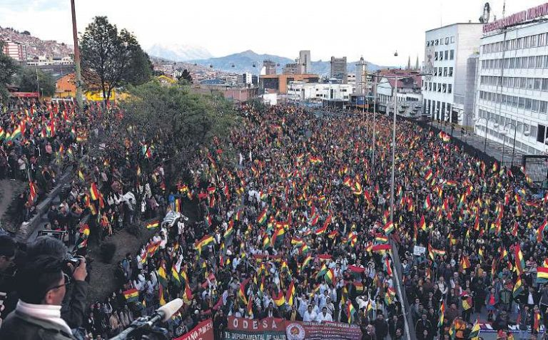 BOLIVIA: BALANCE DE UNA REVOLUCIÓN DESVIADA A ELECCIONES BURGUESAS FRAUDULENTAS
