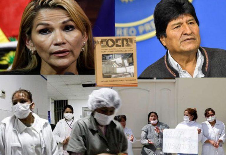 ELECCIONES, ÁÑEZ, EL MAS Y EL CORONAVIRUS