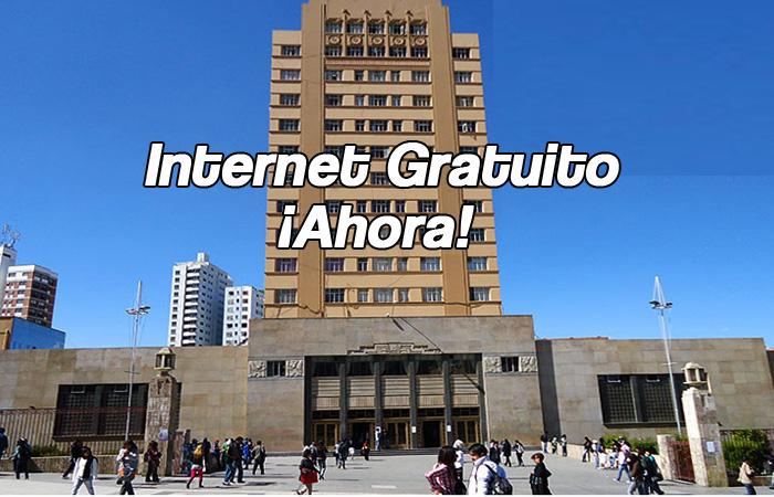 Por internet gratuito e ilimitado para educación