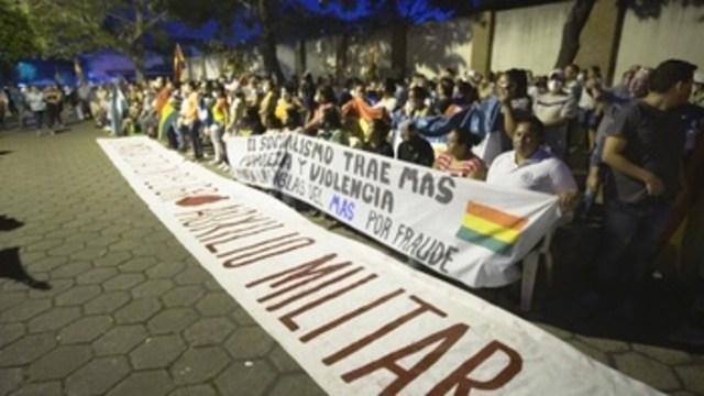 """¿GOBIERNO DE UNA JUNTA MILITAR? EL PELIGRO INMEDIATO ES LA """"UNIDAD NACIONAL"""" DEL MAS"""